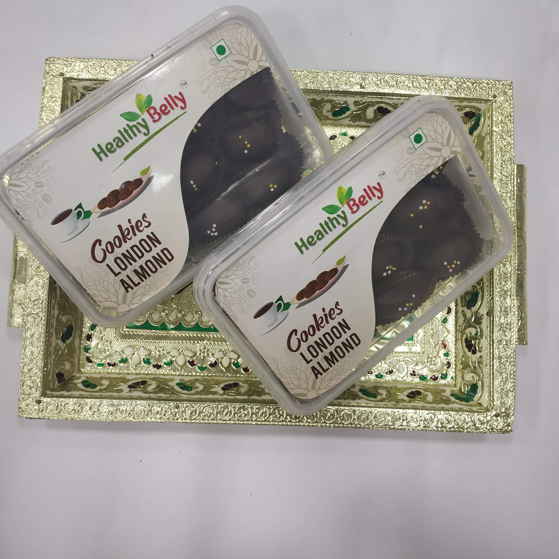 London Almond Cookies